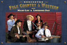 Rencontres Folk Country et Western-swing