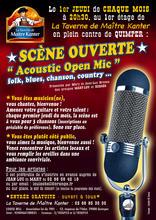 Acoustic Open Mic Quimper